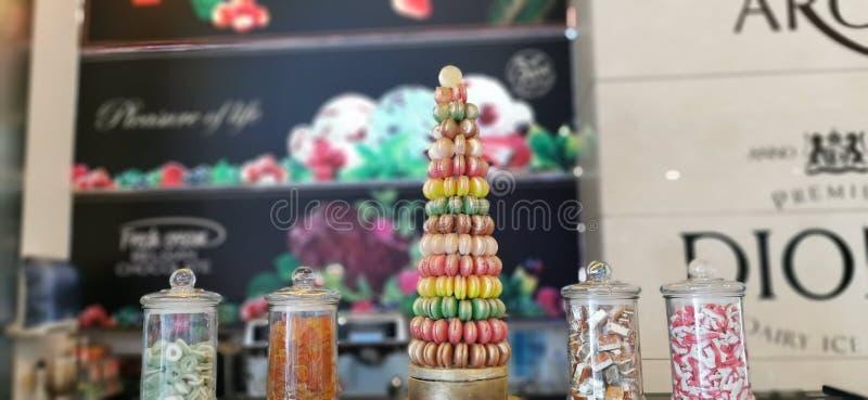 Дом конфеты стоковое фото rf