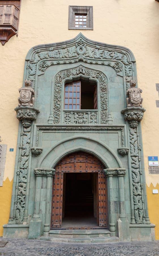 Дом Колумбуса стоковая фотография