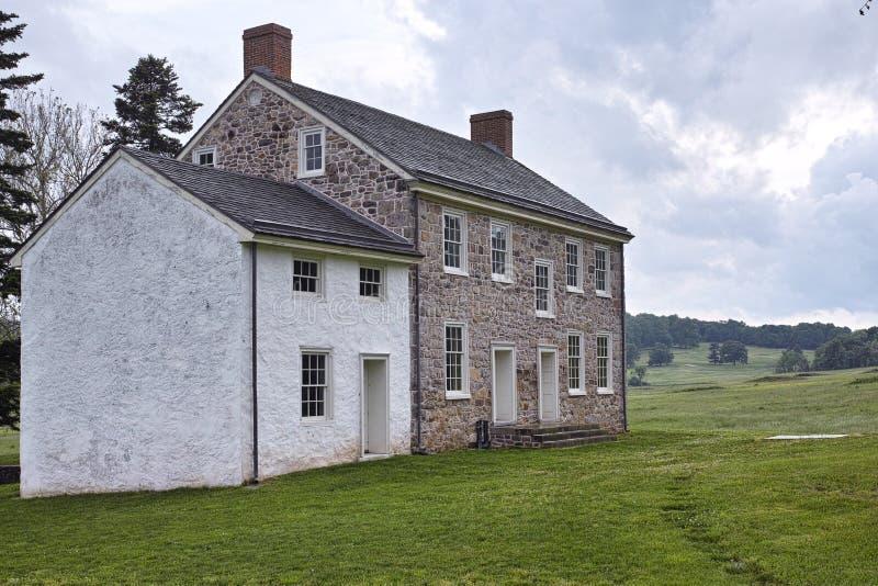 Дом кузницы долины исторический стоковая фотография rf