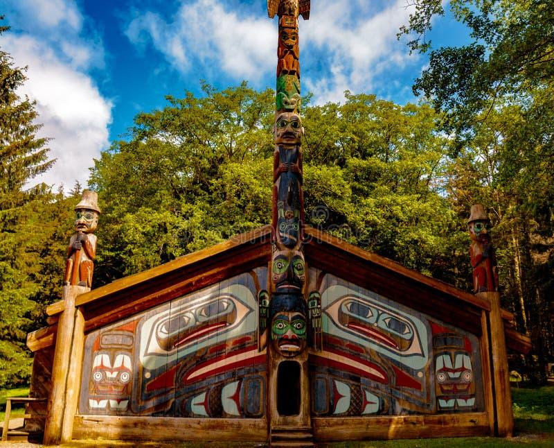 Дом клана стоковая фотография
