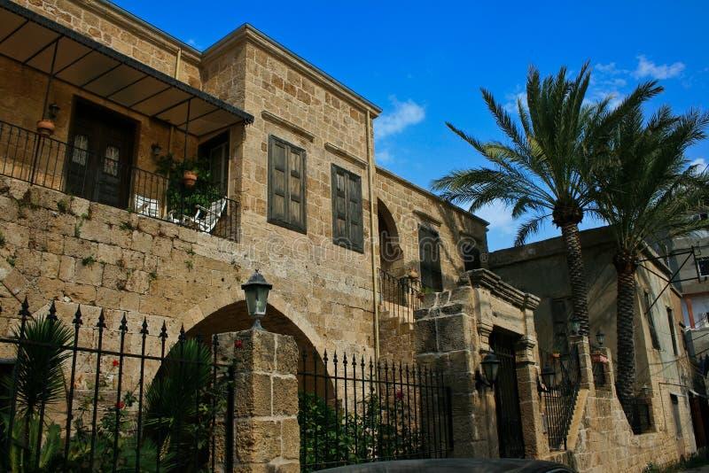 дом Ливан batroun зодчества традиционный стоковая фотография