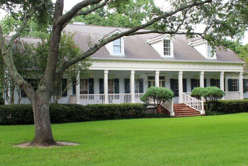 Дом Луизианы стоковое изображение rf
