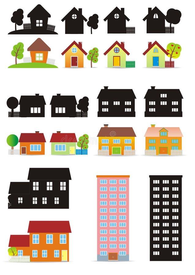 дом малая иллюстрация вектора