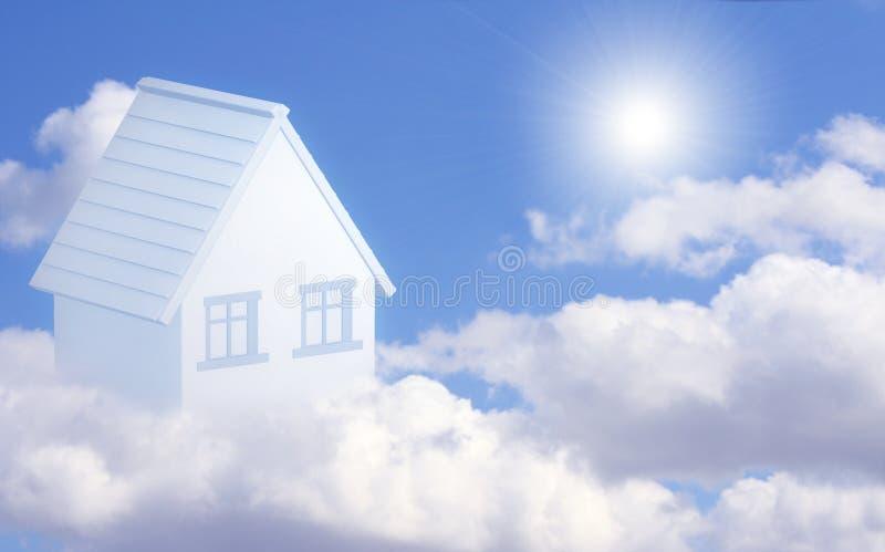 дом мечты имеет стоковое фото rf