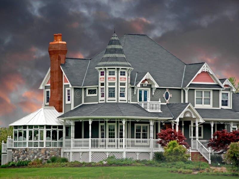 дом мечты стоковые фото