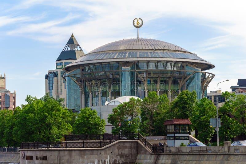 Дом Москвы международный музыки. Россия стоковые фото