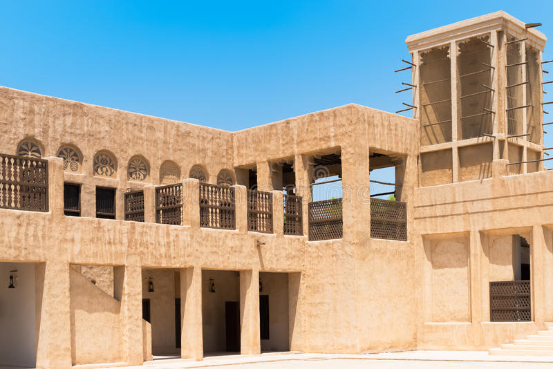 Дом наследия в Дубай стоковая фотография