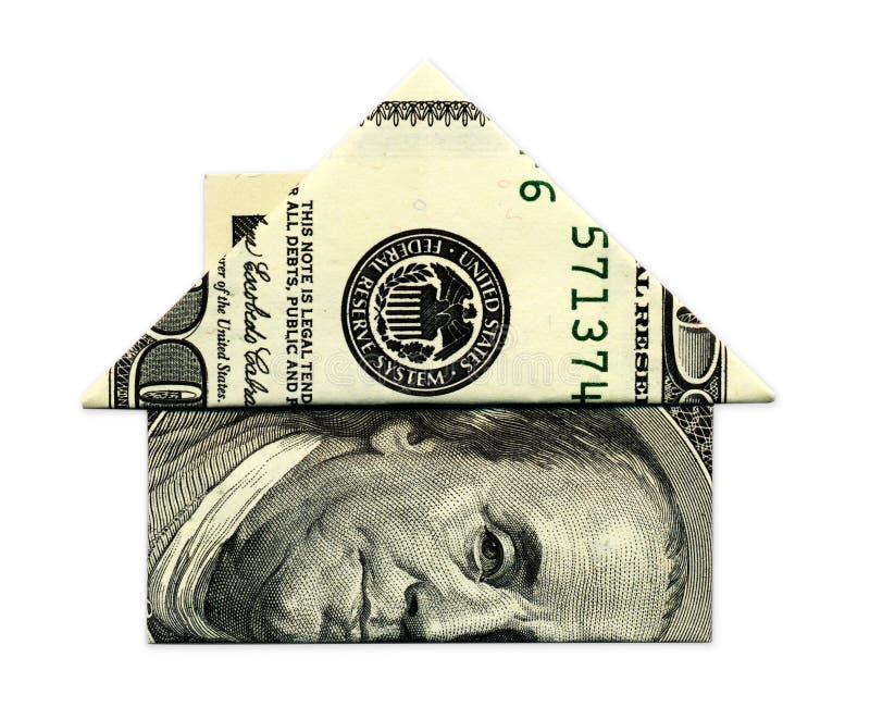 Дом наличных денег стоковое фото