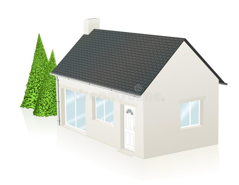 дом немногая бесплатная иллюстрация