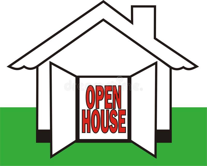 дом открытая бесплатная иллюстрация