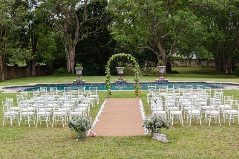 Дом оформления свадьбы стоковое изображение