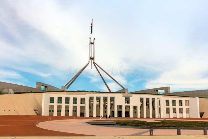 Дом парламента в Канберре место встречи парламента Австралии стоковое фото