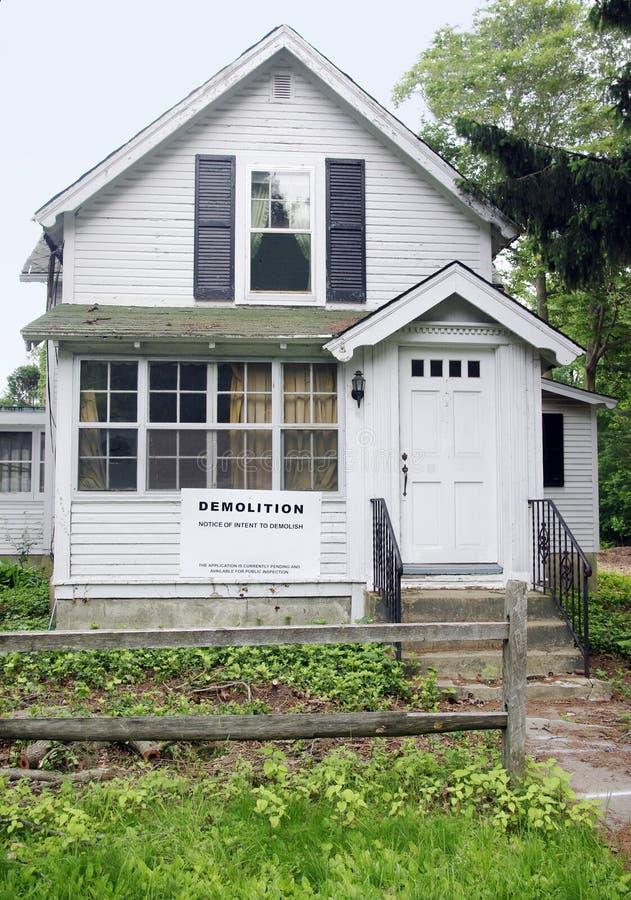 дом подрыванием стоковое фото rf