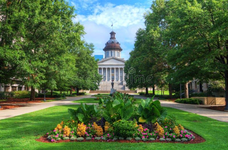 Дом положения South Carolina стоковое изображение