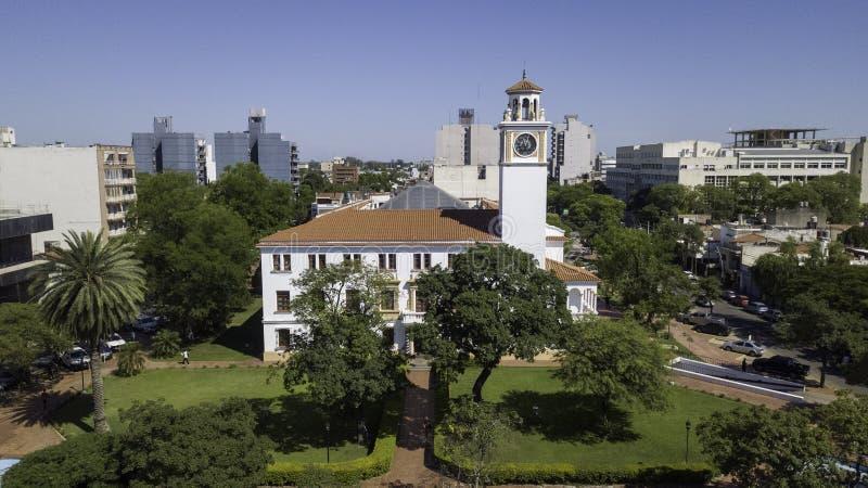 Дом правительства Сантьяго-дель-Эстеро Аргентина стоковая фотография rf