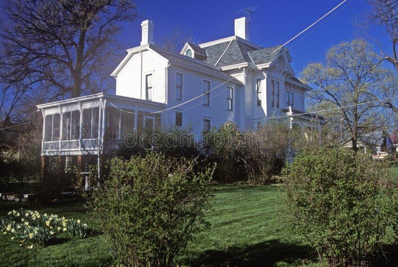 Дом президента Гарри s Truman, независимость, MO стоковые изображения rf