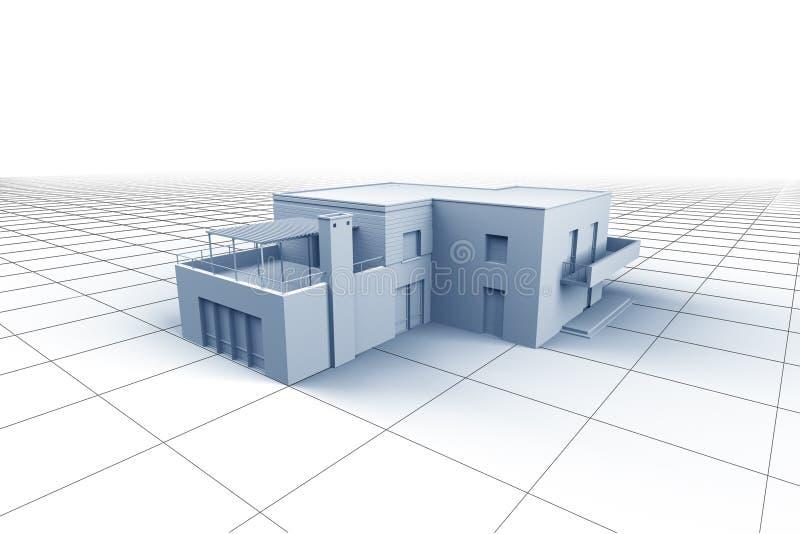дом принципиальной схемы бесплатная иллюстрация