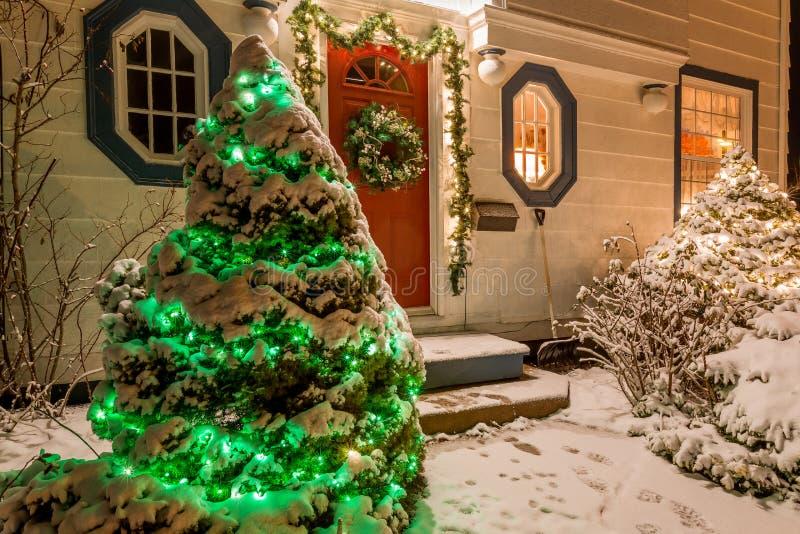 Дом рождества стоковые изображения