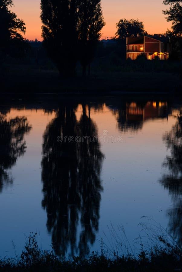 дом селитебная стоковое изображение rf