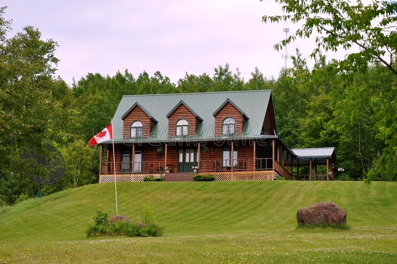 дом сельской местности роскошная стоковое изображение rf