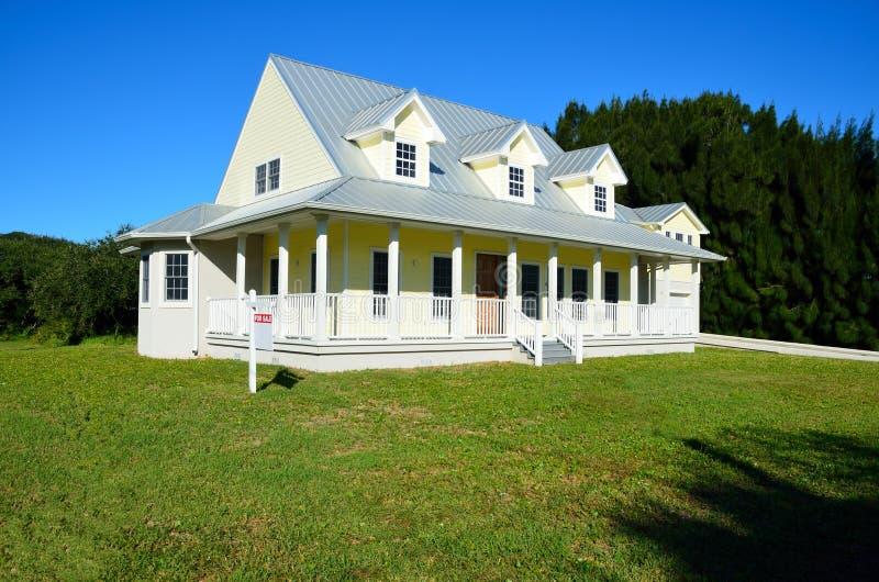 дом сельской местности самомоднейшая стоковое фото