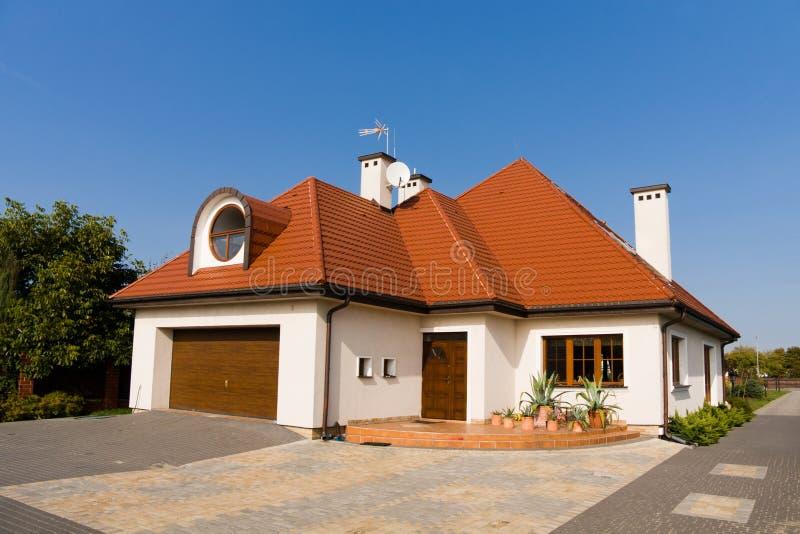 дом семьи одиночная стоковое фото rf