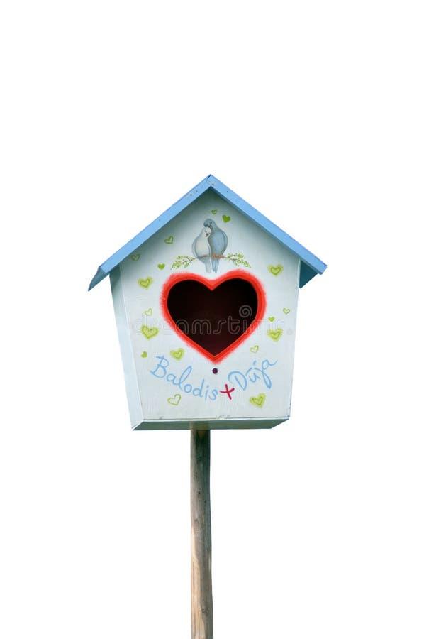 дом сердца птицы стоковые фотографии rf