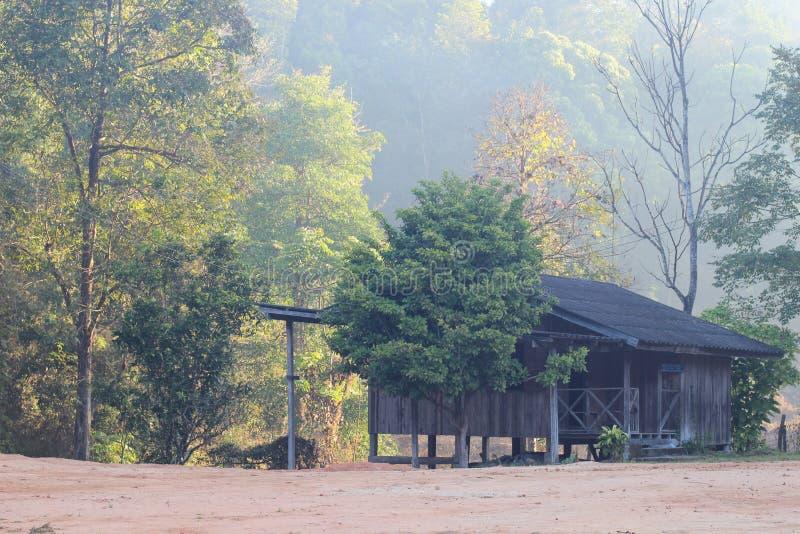 Дом сельской местности стоковые изображения rf