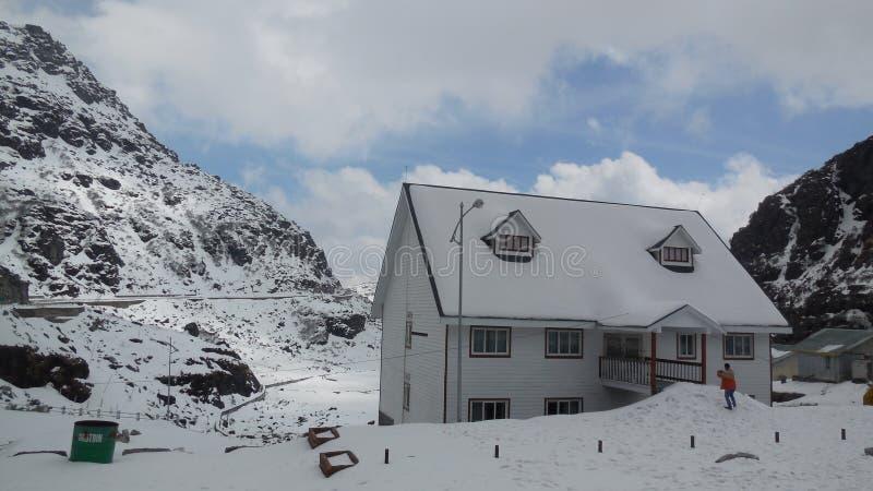 Дом Сикким льда стоковое изображение rf