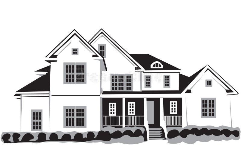 дом славная иллюстрация вектора