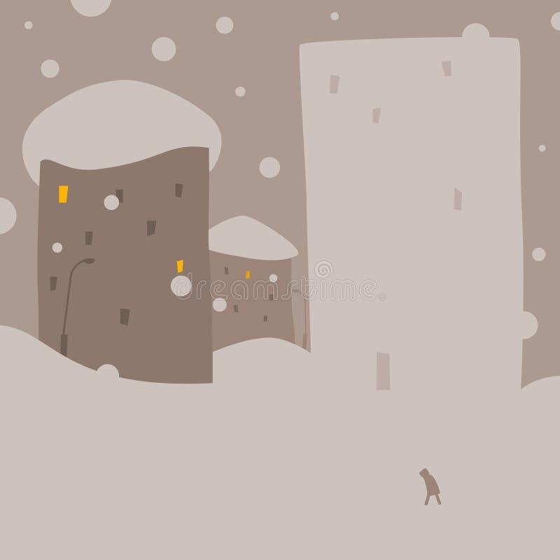 Дом снежка Стоковая Фотография RF