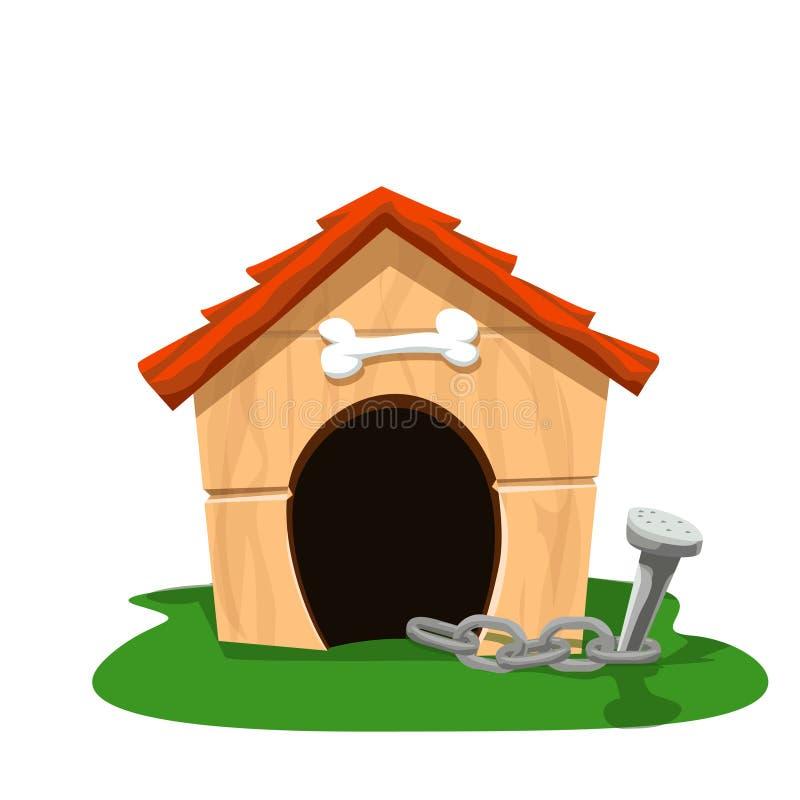 Дом собаки 2 иллюстрация штока