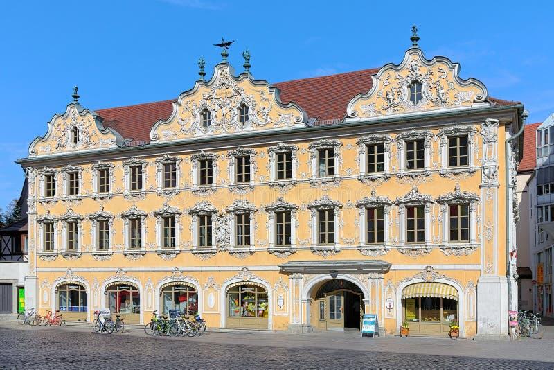 Дом сокола в Wurzburg, Германии стоковое изображение