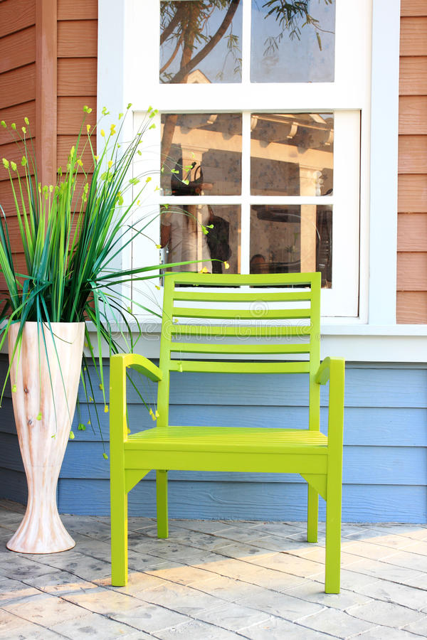 дом стула ослабляет стоковые изображения rf