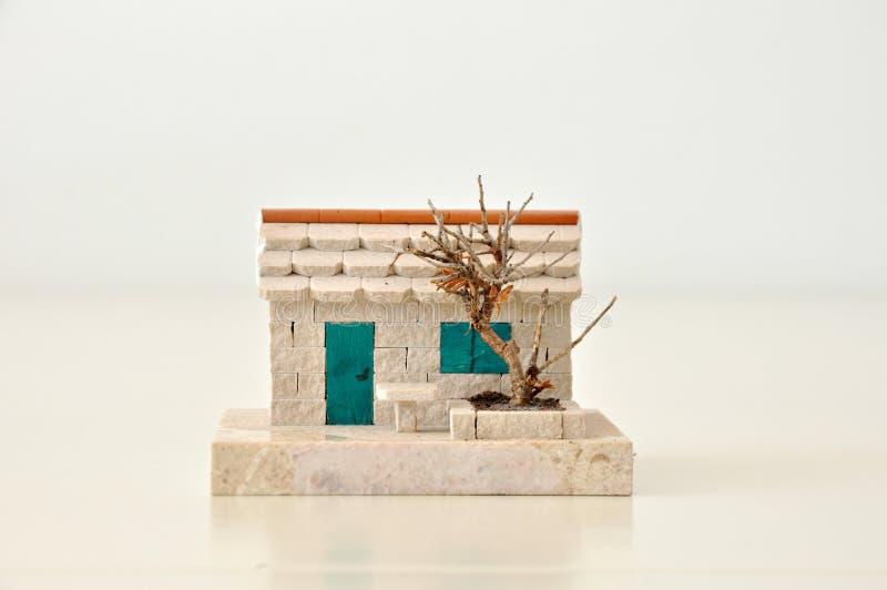 Дом сувенира каменный стоковые изображения rf