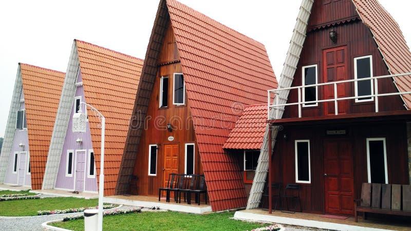 Дом треугольника стоковое изображение rf