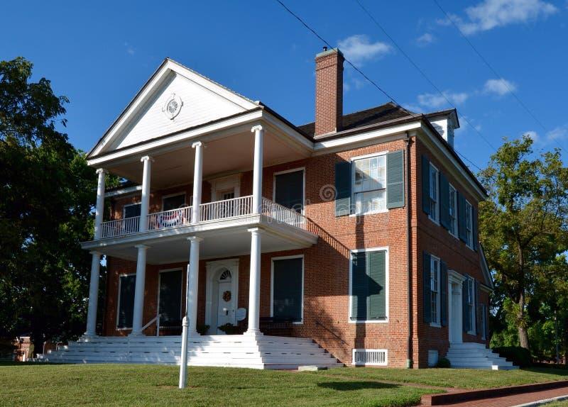 Дом Уильям Генри Гаррисон стоковые изображения rf
