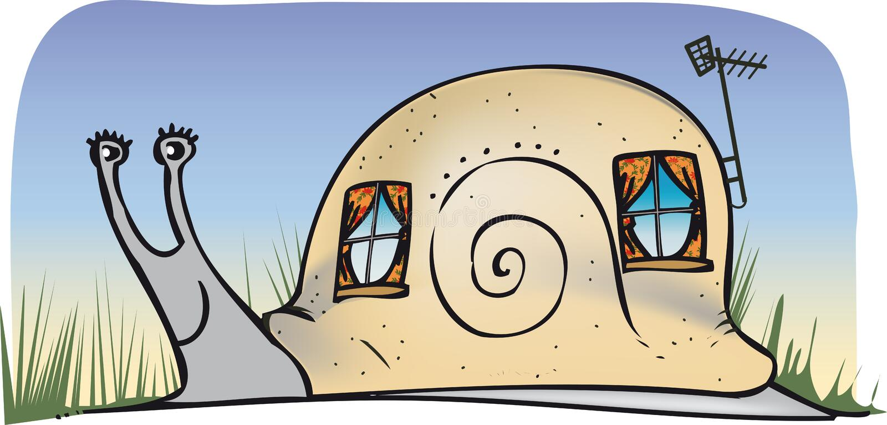Дом улитки бесплатная иллюстрация