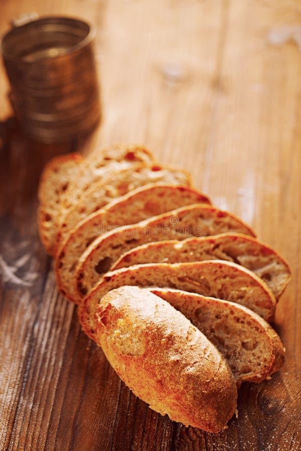Дом хлеба Sourdough органический сделал стоковое изображение