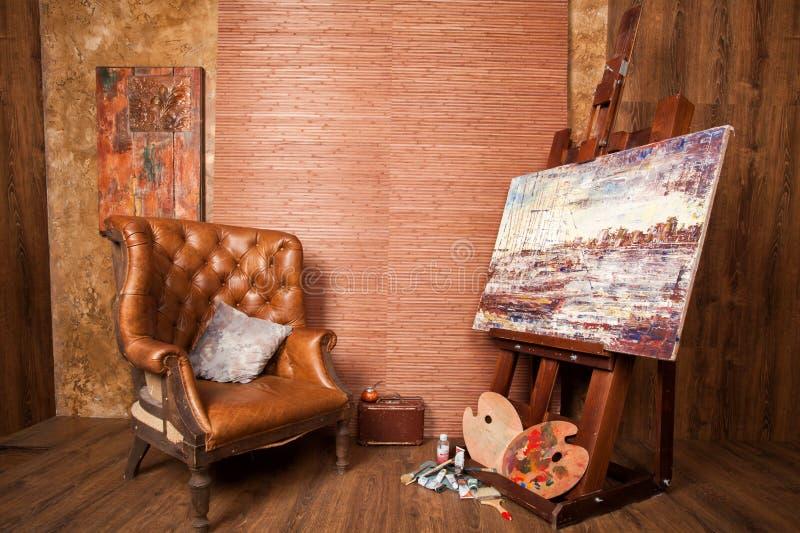 Дом художника стоковые фото