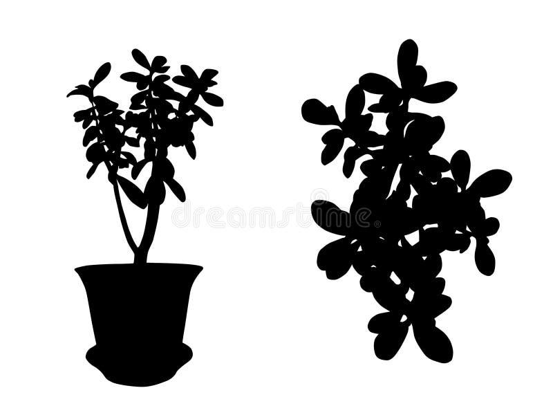 дом цветка иллюстрация штока