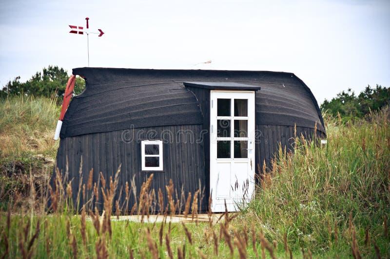 дом шлюпки стоковое изображение rf
