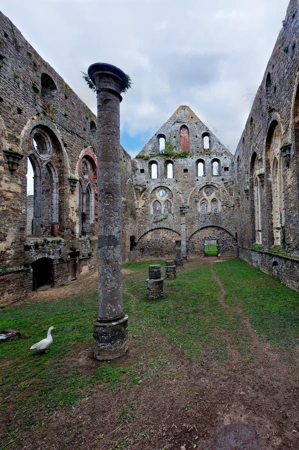 Дом штендера руин, аббатство Ла Ville Villers, Бельгии стоковые фото