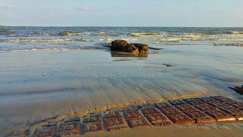 дом ‹â€ ‹â€ моря разрушая стоковые изображения