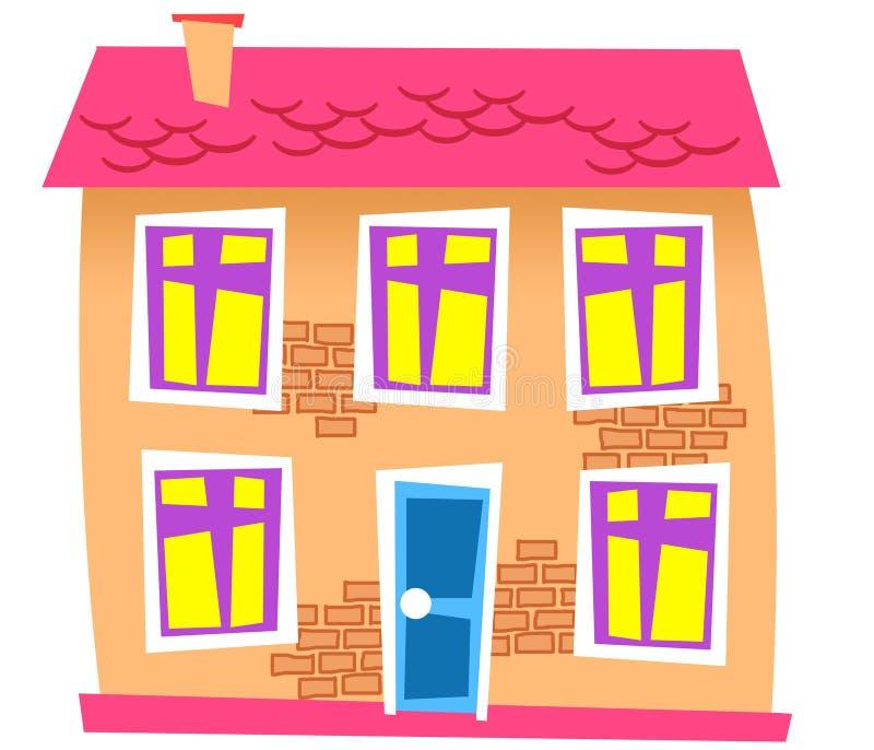 дом 12 иллюстрация штока