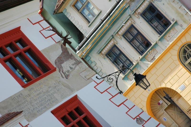 дом 2 оленей стоковые фотографии rf