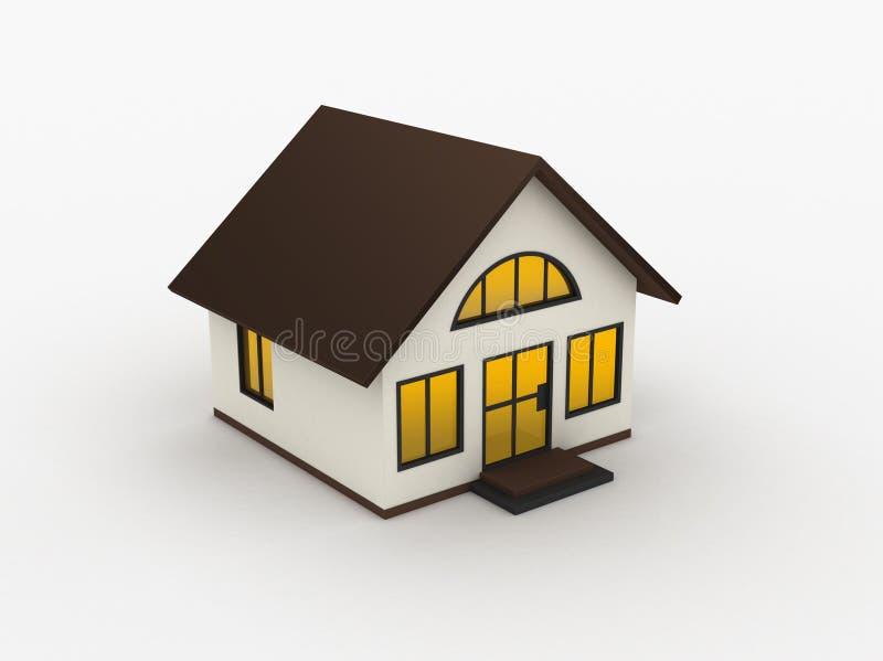 дом 3d стоковые фото