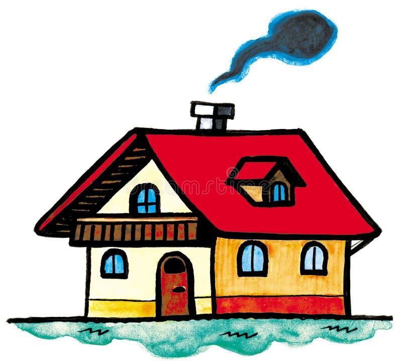 дом иллюстрация штока