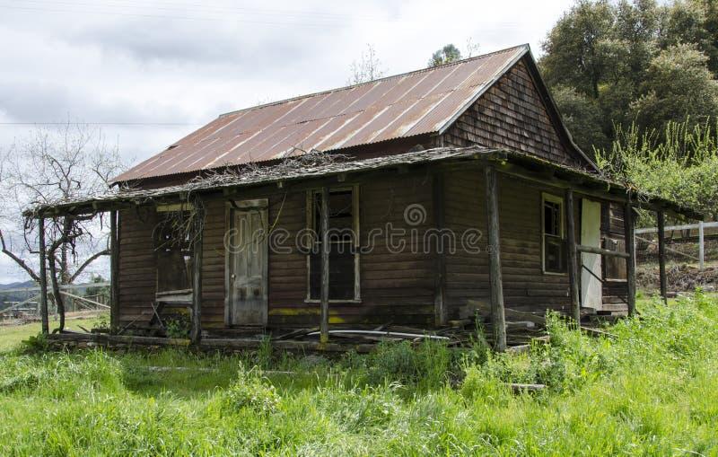 дом abandon стоковое фото