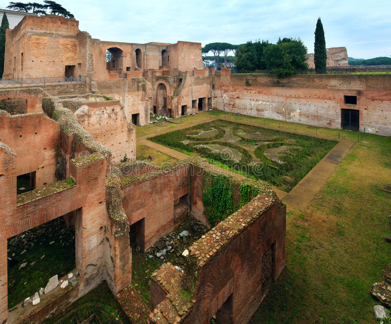Дом Augustus на холме Palatine в Риме стоковые фото